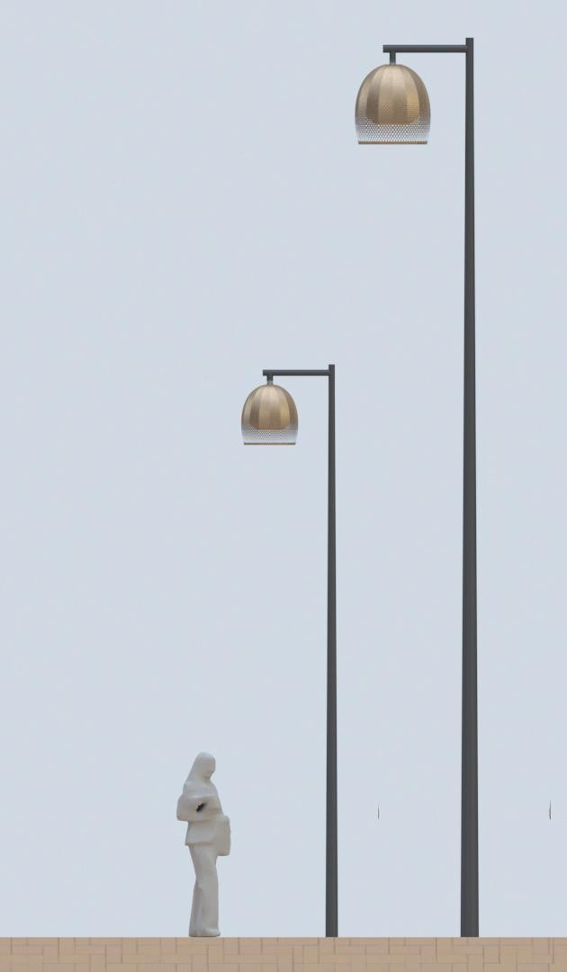 Eslövslyktan kommer i två olika storlekar
