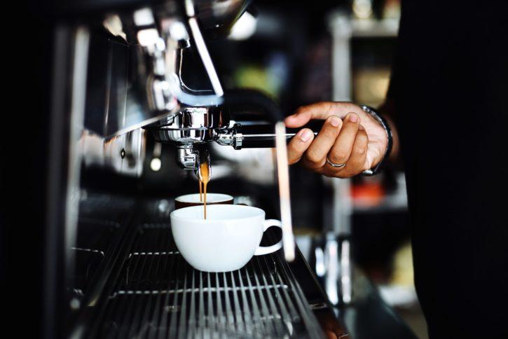 Bild från ett kafé