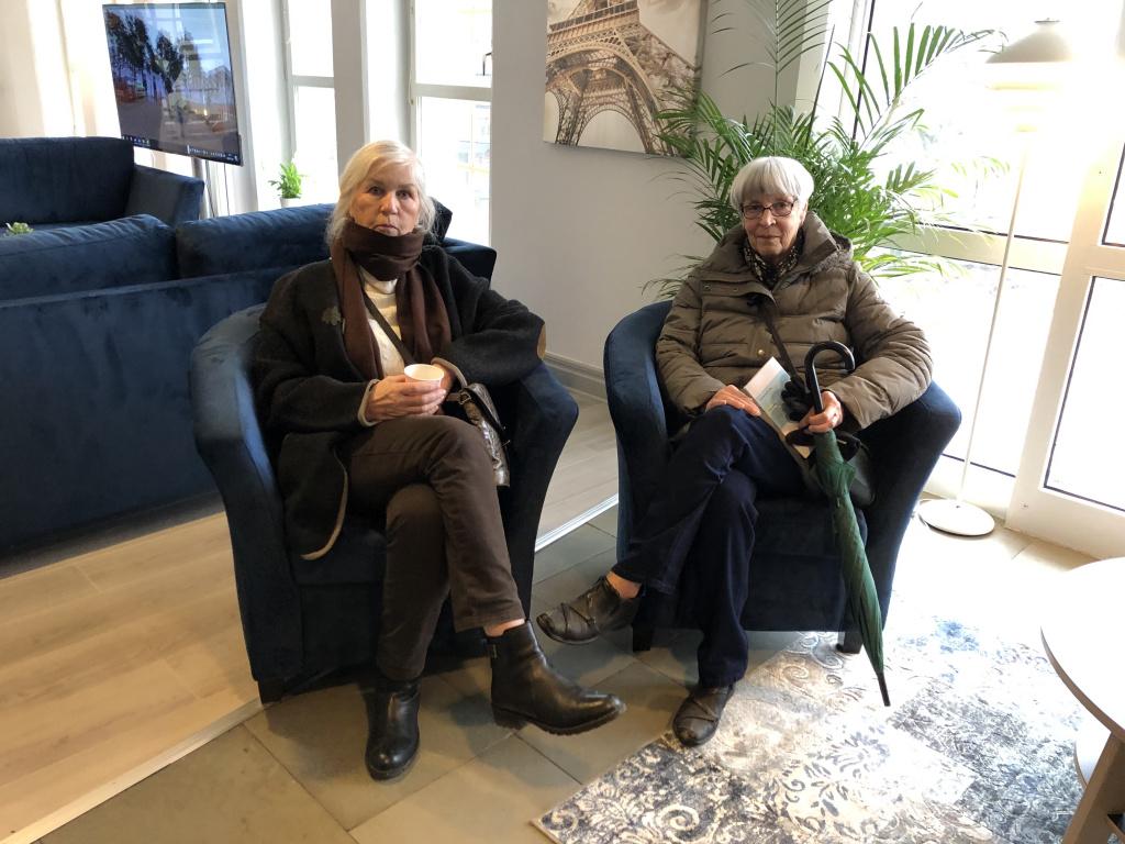 Else-Marie Hellqvist och väninnan Margareta Åkesson.