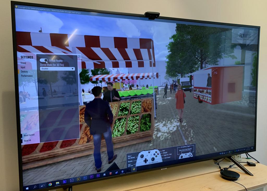 VR-skärm