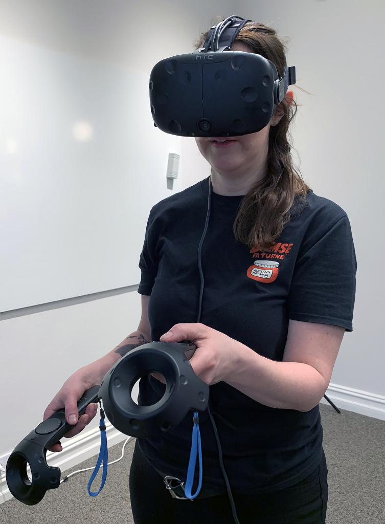 VR-utrustning