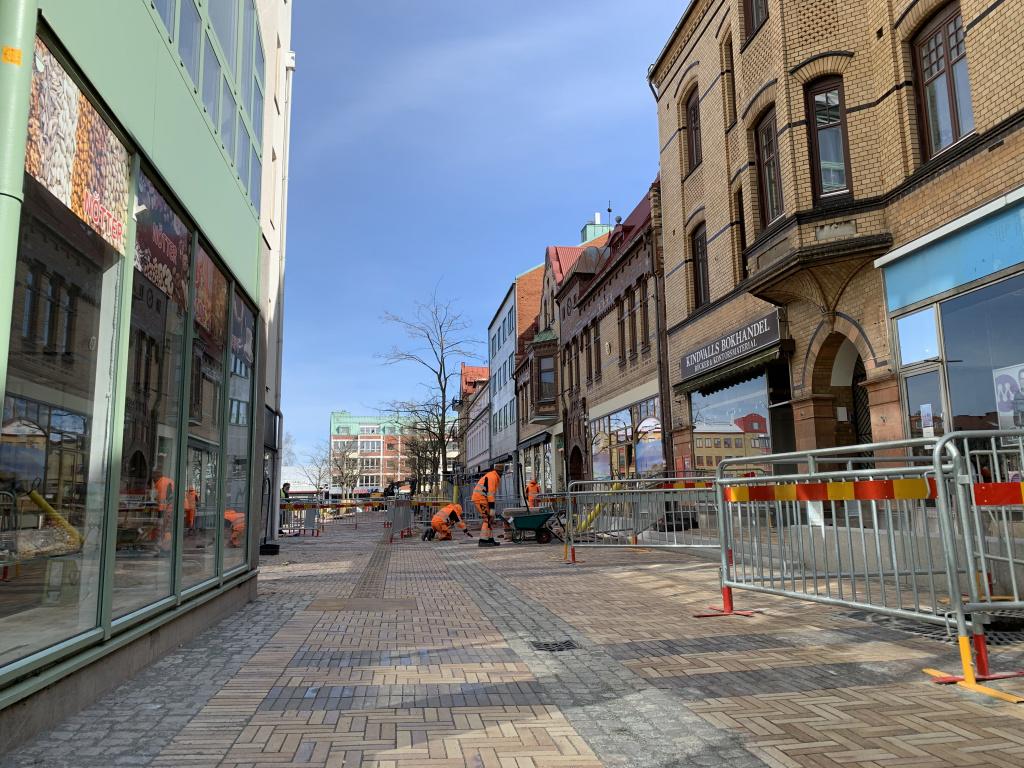 Köpmansgatan mot Stora torg