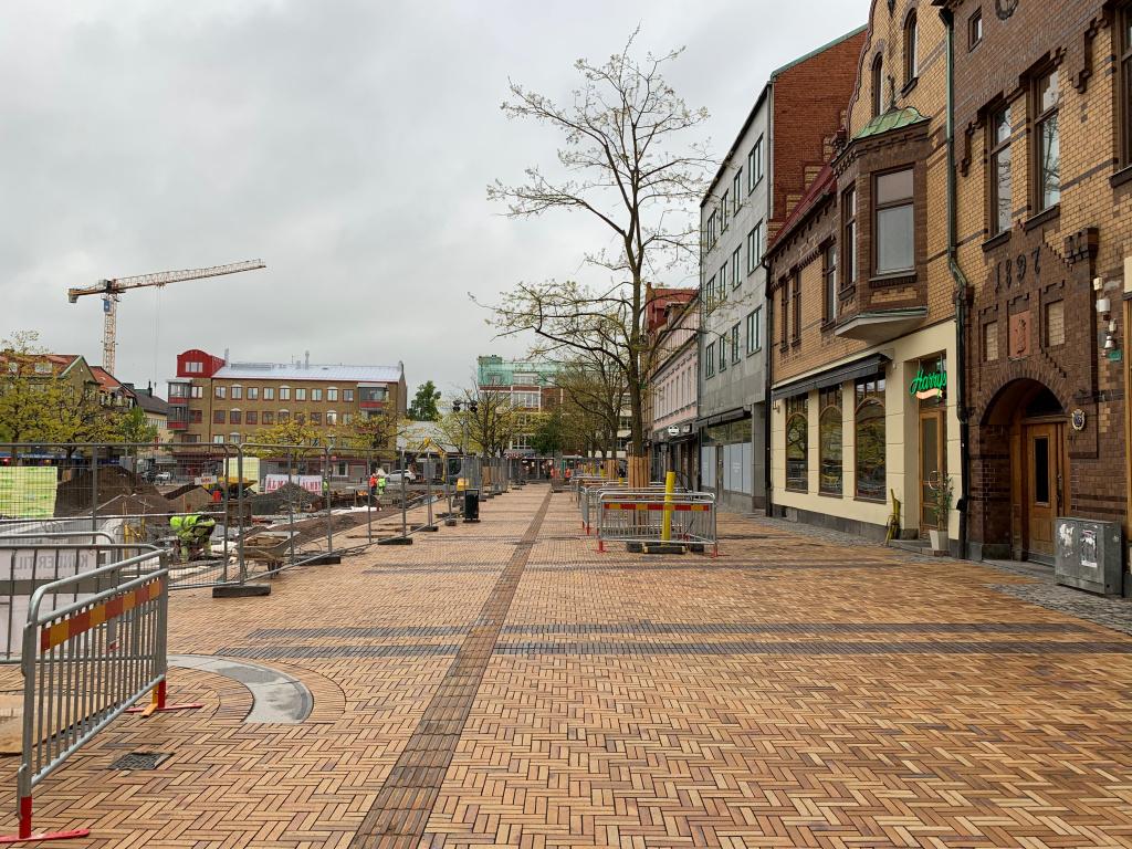 Marktegel på Köpmansgatan