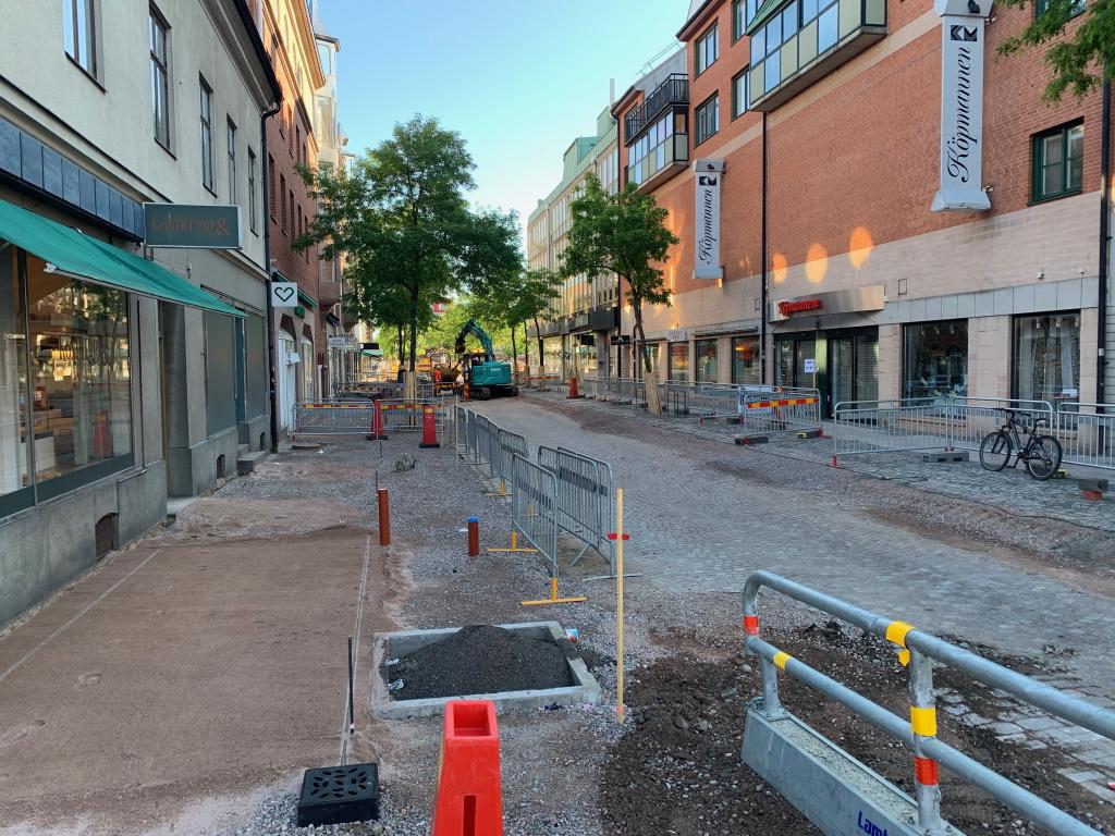 Södergatan sedd från Bryggaregatan