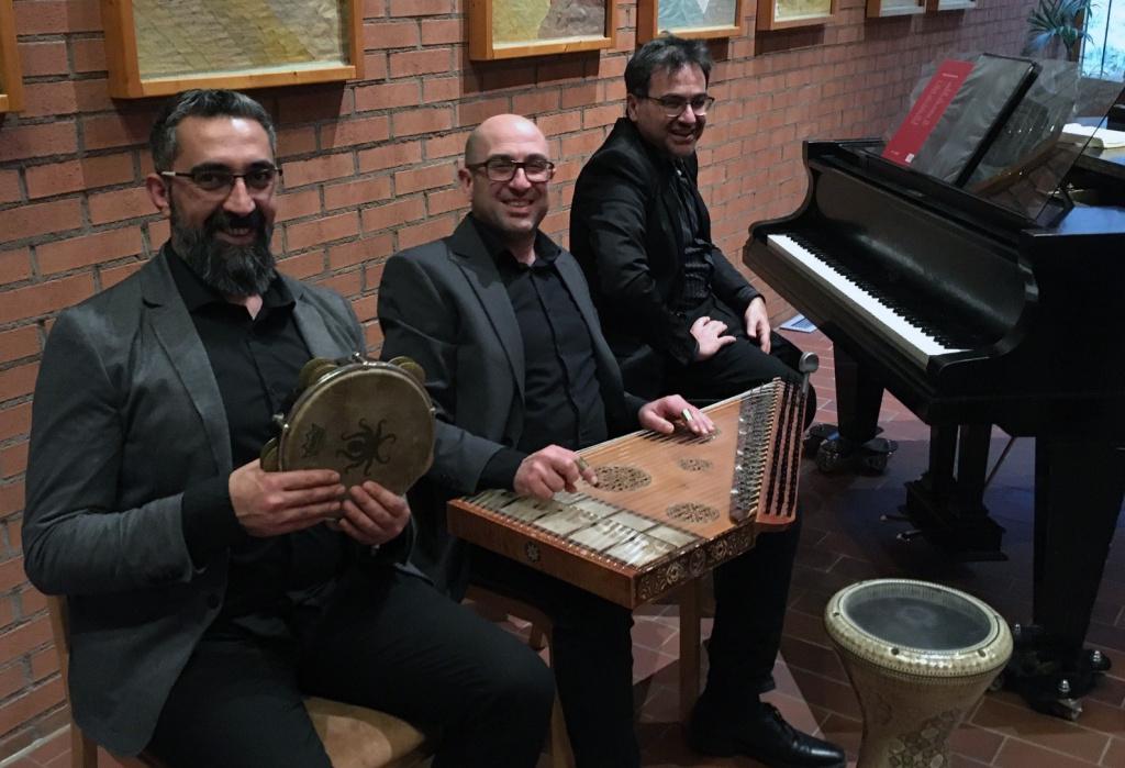 Tre musiker