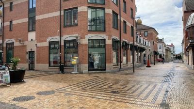 Köpmansgatan är öppen igen