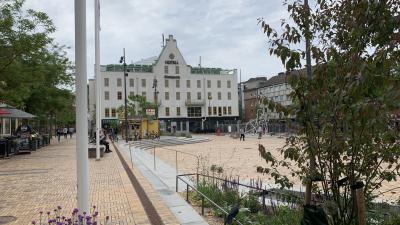Hela Eslövs centrum är klart!